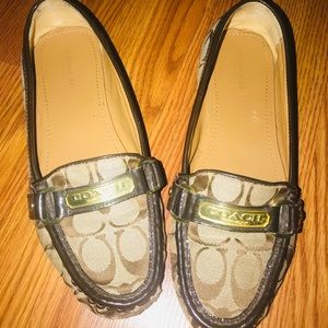 COACH  LOGO LOAFERS